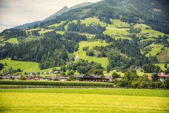 Typical area of Tyrol nature Stock Images