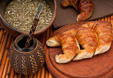 Typical Argentinean Breakfast Stock Images