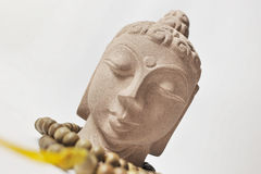 Stone Buddha Royalty Free Stock Photography