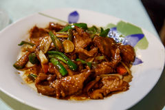 Typical asian dish in detail Stock Photos