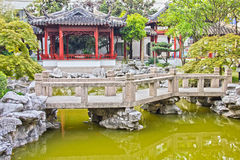 Typical Asian garden Royalty Free Stock Photography