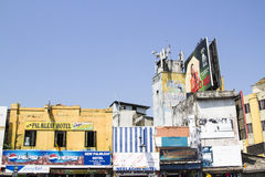 A typical asian street market, Colombo, Sri Lanka. Stock Images