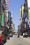 A typical asian street market Stock Photos