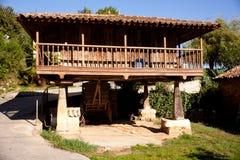 Typical Asturian granary Royalty Free Stock Photo