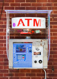 Typical ATM in New York Stock Photography