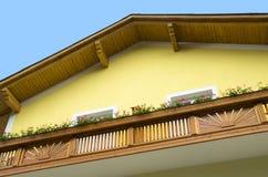 Typical austrian house Stock Photos