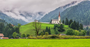 Typical Austrian landscapes. In autumn Royalty Free Stock Images
