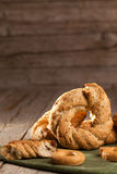 Typical Bagels From Naples Stock Photography
