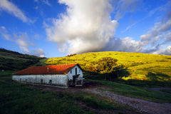 Typical basque country architecture in Gorliz Stock Image