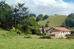 Typical basque country house Royalty Free Stock Photography