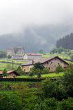 Typical basque country houses Stock Photography