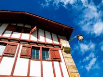 Typical Basque house Stock Photo