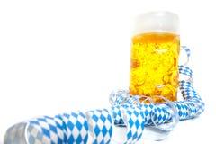 Typical bavarian beer mug Royalty Free Stock Photo
