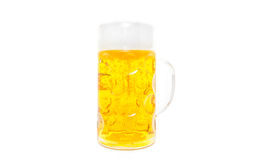 Typical bavarian beer mug Royalty Free Stock Photography