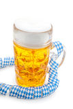 Typical bavarian beer mug Royalty Free Stock Image