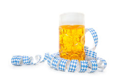 Typical bavarian beer mug Stock Photo