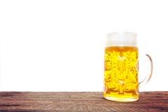 Typical bavarian beer mug Stock Photography