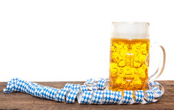 Typical bavarian beer mug Royalty Free Stock Images