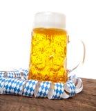 Typical bavarian beer mug Royalty Free Stock Photos
