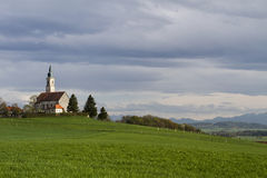 Typical bavarian church Stock Photo