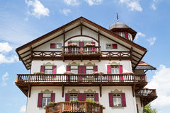 Typical bavarian country house Royalty Free Stock Images