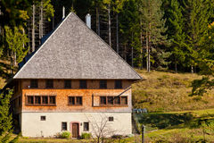 Typical Black Forest House Royalty Free Stock Photography
