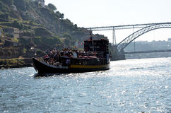 Typical boat on Douro river Stock Photography