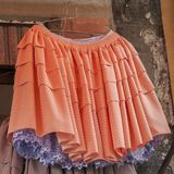 Typical bolivian skirts and local dresses, Copacabana - Bolivia royalty free stock photography