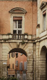 Typical Bologna street Royalty Free Stock Photography
