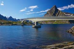 Bridge in Norway Royalty Free Stock Photos