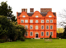 Typical british building. A typical british building in a park Stock Photo