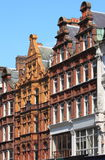 Typical british red brick mansions. Some typical british red brick mansions Royalty Free Stock Photos
