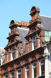 Typical british red brick mansions. Some typical british red brick mansions Stock Images