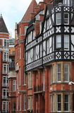 Typical british red brick mansions. Some typical british red brick mansions Stock Image