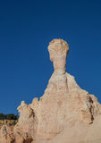 Typical bryce canyon rock in the Queens Garden Stock Photography