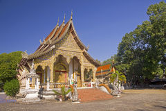 A typical Buddhist temple Stock Photography