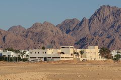 Typical building in Beduin village egypt,. Typical building in Beduin village egypt royalty free stock photos