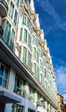 Typical building in the centre of Madrid, Spain Royalty Free Stock Photo