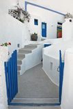 Typical building at Firostefani, Santorini, Greece Royalty Free Stock Images