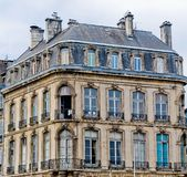 Typical Building of France. Royalty Free Stock Photo
