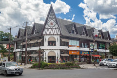 Typical Building Gramado Brazil Stock Images