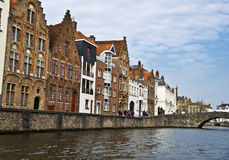 Typical Building In Bruges. Royalty Free Stock Image