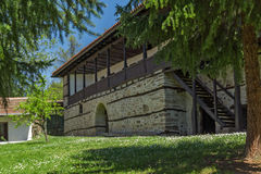 Typical building of the nineteenth century in Temski monastery St. George, Pirot, Republic of Serbia Stock Images