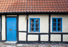 Typical building style in Denmark Stock Images