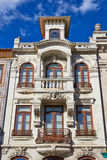 Typical building view, Aveiro, Portugal Stock Photo
