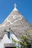 Typical buildings called Trulli of Alberobello Stock Photos
