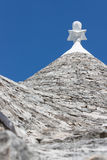 Typical buildings called Trulli of Alberobello Stock Image