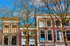 Typical buildings in Gouda, Netherlands Stock Photography
