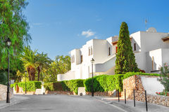 Typical buildings on the island of Mallorca. Stock Photography