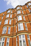 Typical buildings in London stock photo